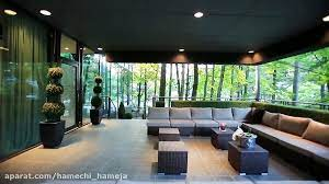 ویلا شیشه ای در کانادا(بسیار شیک و لاکچری)