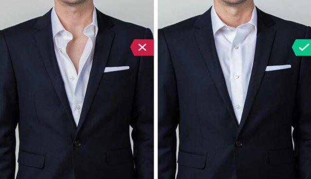 10 اشتباه رایج آقایان در پوشیدن کت و شلوار