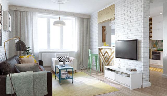 پنج ایده برای دکوراسیون داخلی آپارتمان
