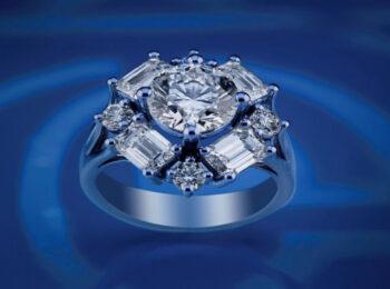 انگشتر الماس عروس